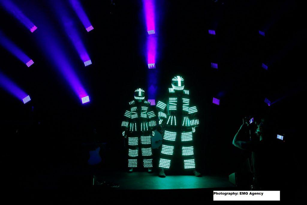 LED Robots and El-Wire Dancers
